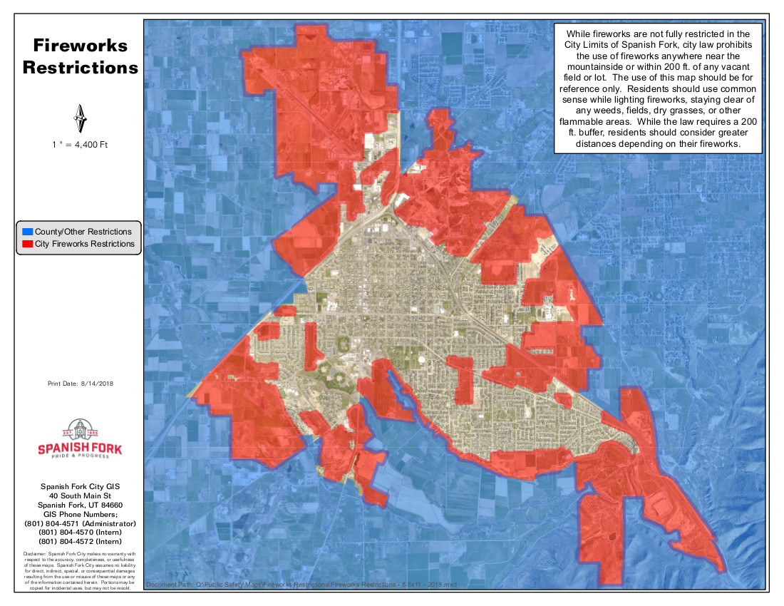 Spanish fork city network